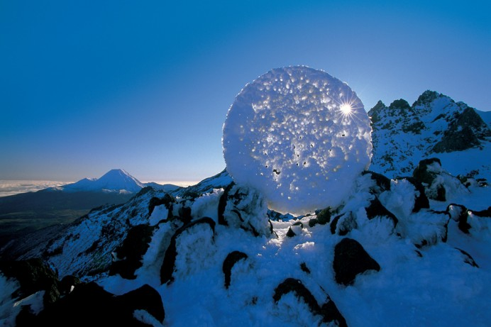 Environmental Art Interventions With Reflective Circle Sculptures By Martin Hill 3