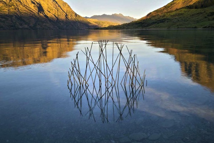 Environmental Art Interventions With Reflective Circle Sculptures By Martin Hill 4