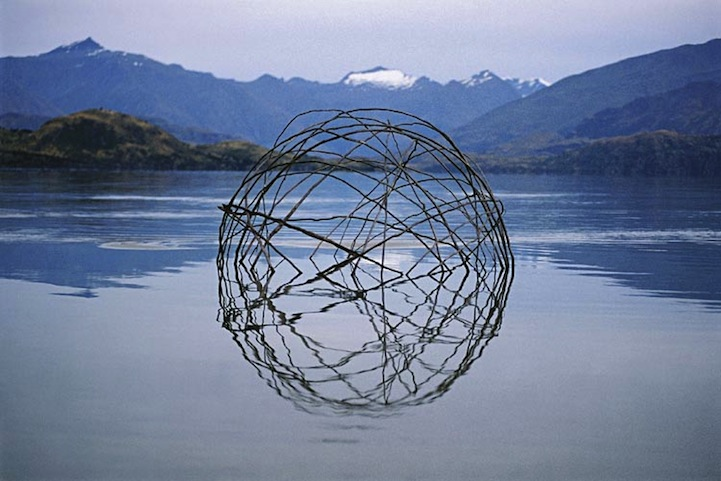 Environmental Art Interventions With Reflective Circle Sculptures By Martin Hill 11