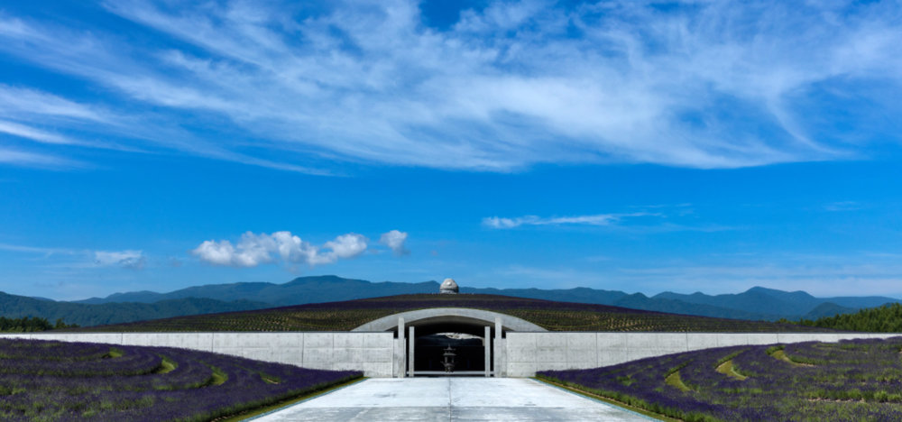 Extraordinary Underground Temple With A Giant Statue Of Buddha Inside By Tadao Ando 7