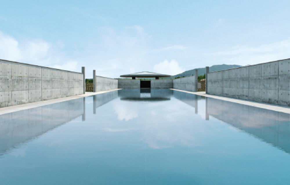 Extraordinary Underground Temple With A Giant Statue Of Buddha Inside By Tadao Ando 9