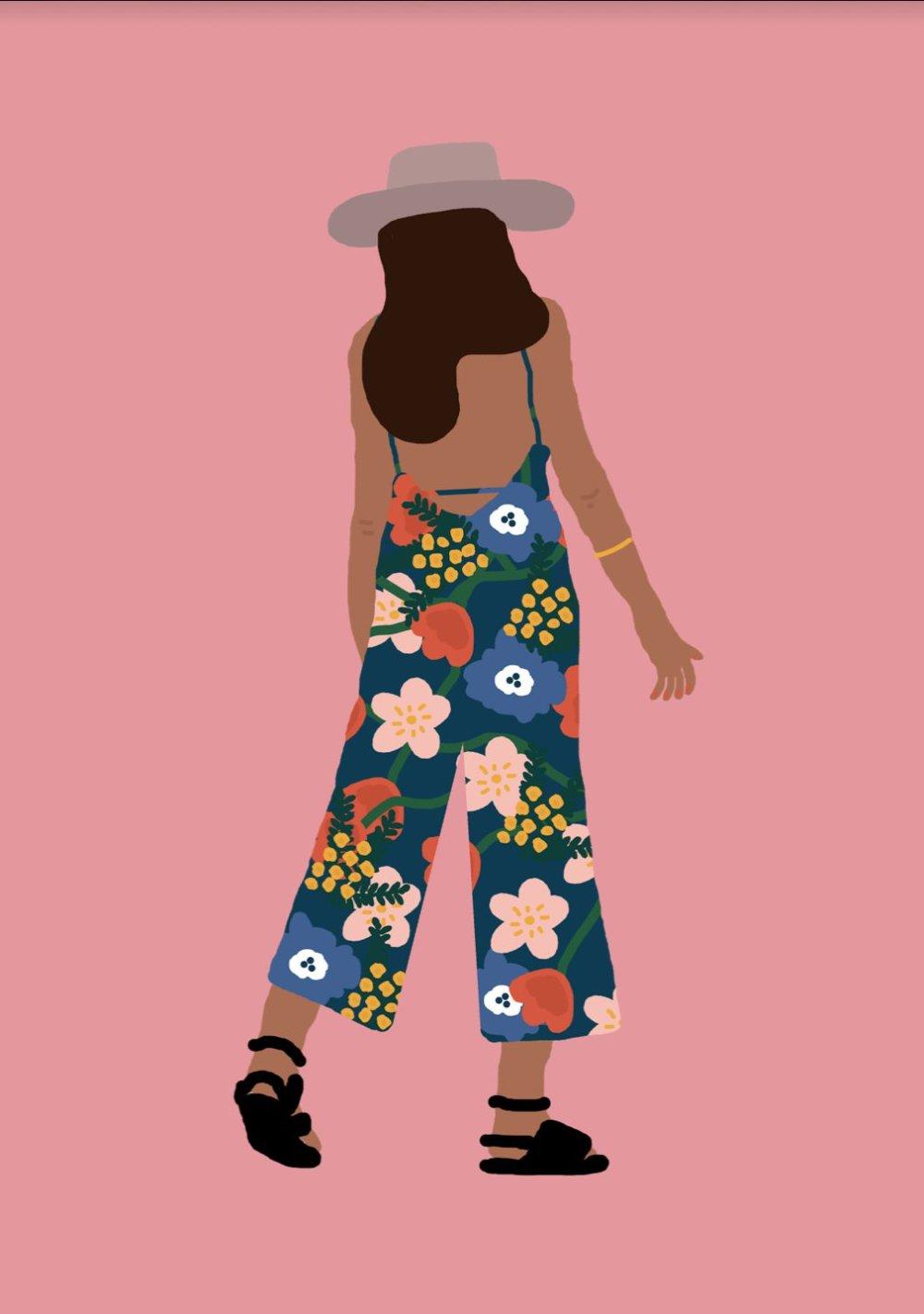 Gorgeous And Colorful Floral Illustrations By Rafaela Mascaro 5