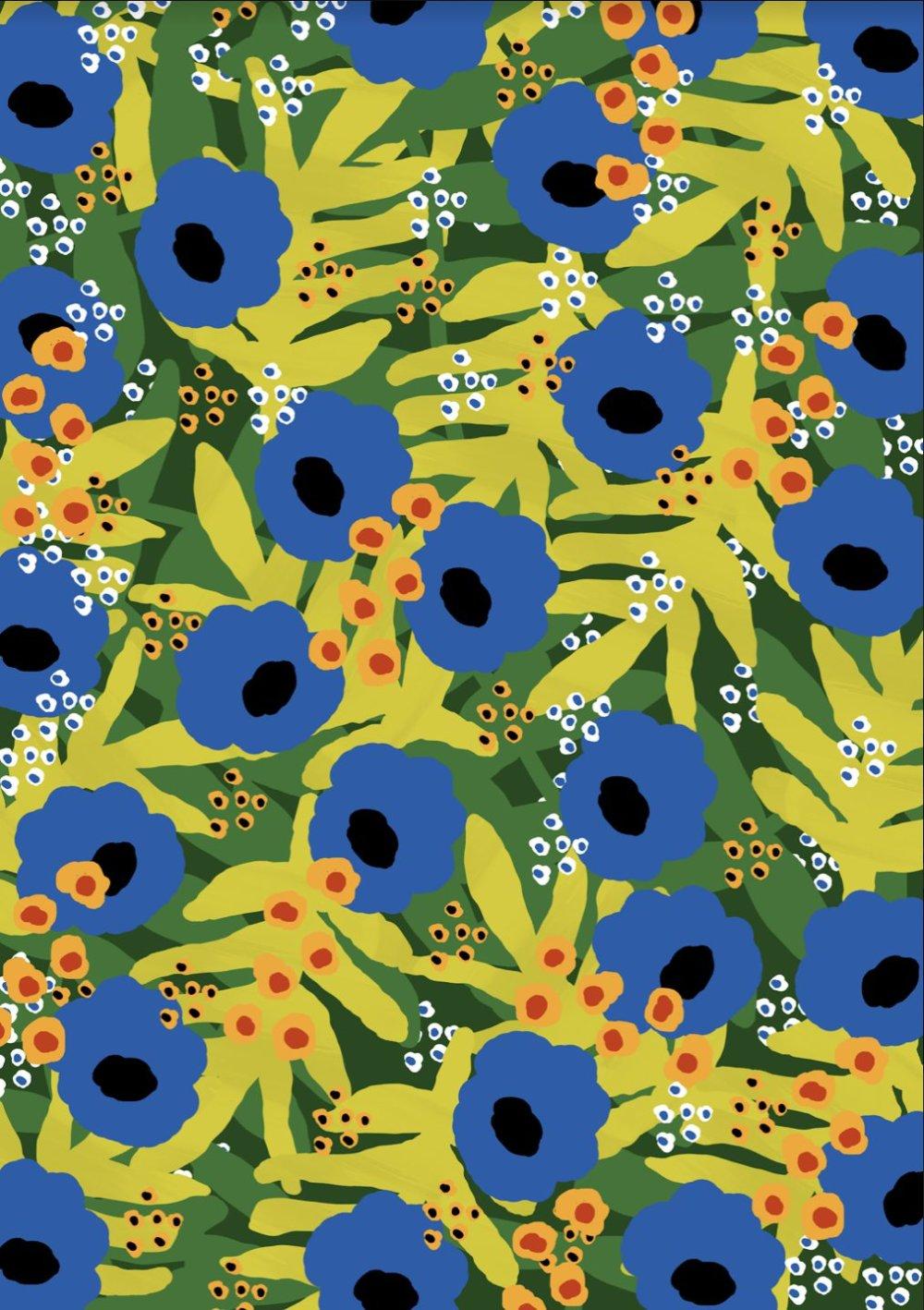 Gorgeous And Colorful Floral Illustrations By Rafaela Mascaro 7