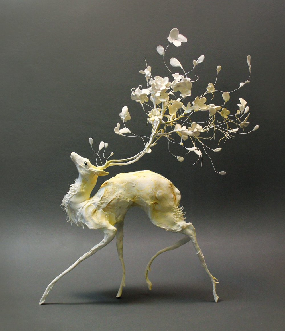 Lush And Surreal Sculptures Of Symbiotic Animals By Ellen Jewett 10
