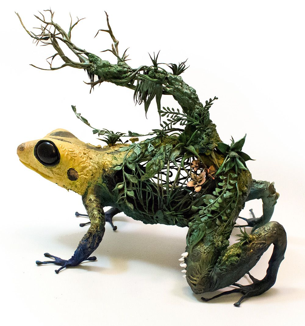Lush And Surreal Sculptures Of Symbiotic Animals By Ellen Jewett 9