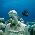Superb art interventions with underwater figurative sculptures by Jason deCaires Taylor