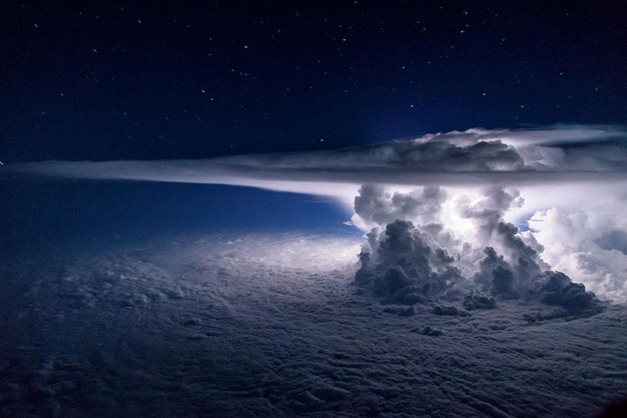 Astonishing Storm Photographs Taken From Cockpits By Pilot Santiago Borja 1