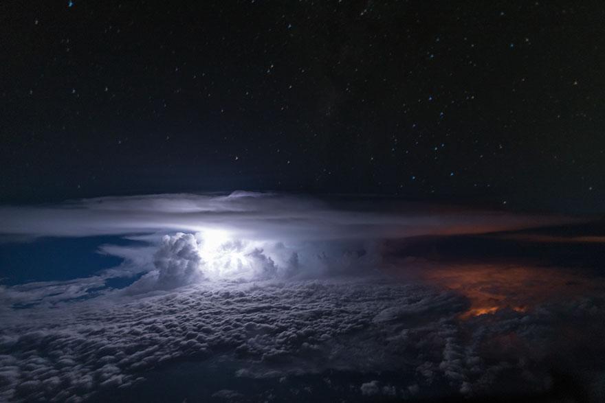 Astonishing Storm Photographs Taken From Cockpits By Pilot Santiago Borja 7