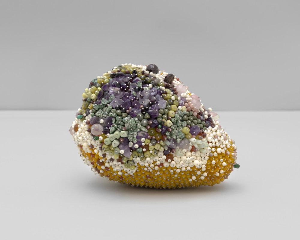 Bad Fruit Beautifully Bejeweled Rotting Fruit Sculptures By Kathleen Ryan 1