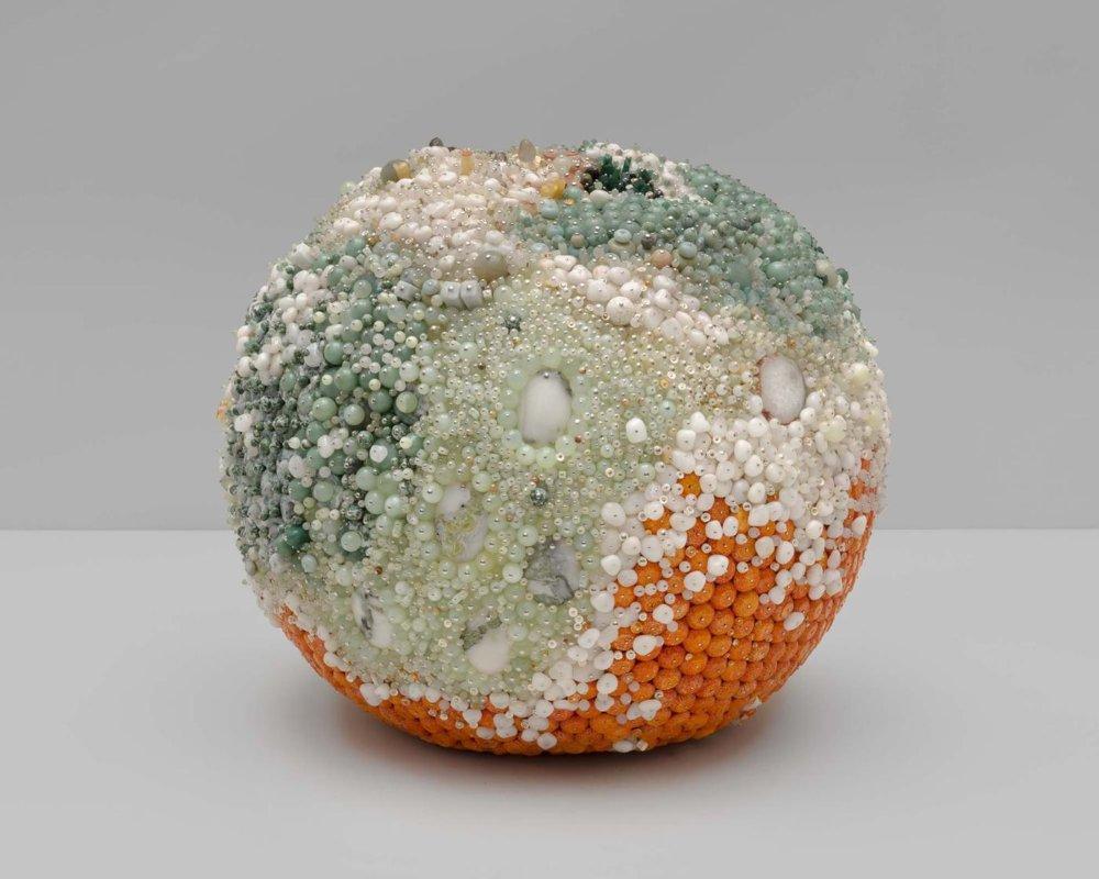 Bad Fruit Beautifully Bejeweled Rotting Fruit Sculptures By Kathleen Ryan 10