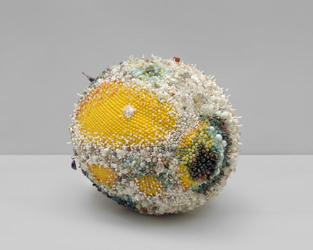 Bad Fruit Beautifully Bejeweled Rotting Fruit Sculptures By Kathleen Ryan 2