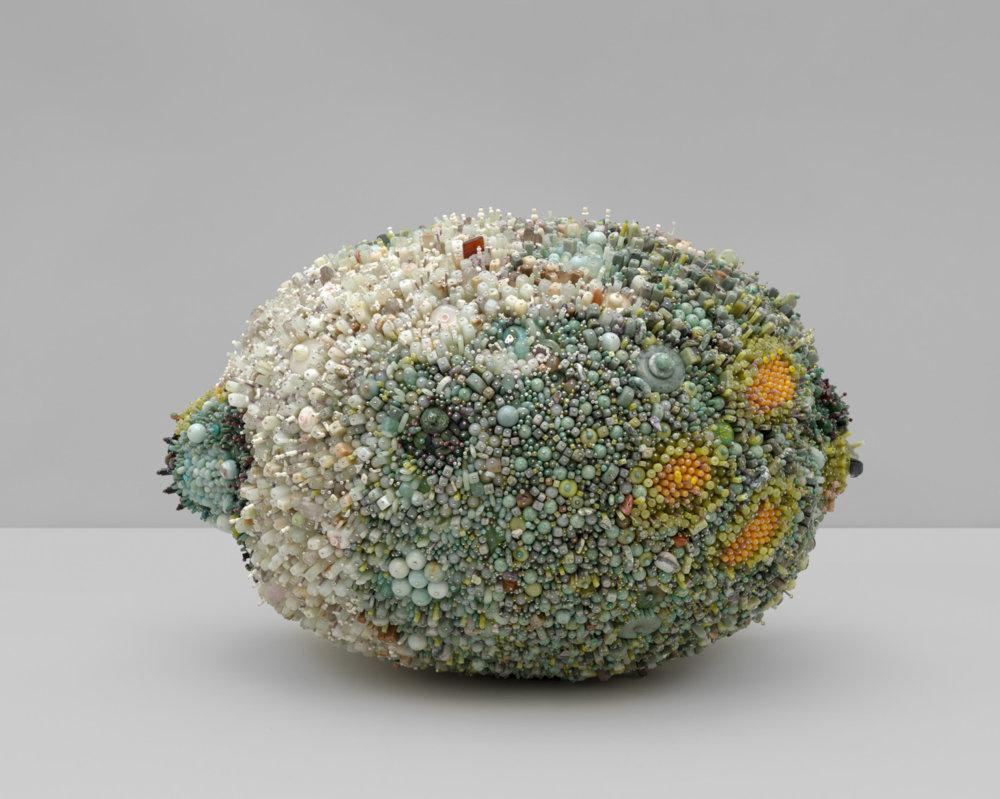 Bad Fruit Beautifully Bejeweled Rotting Fruit Sculptures By Kathleen Ryan 3