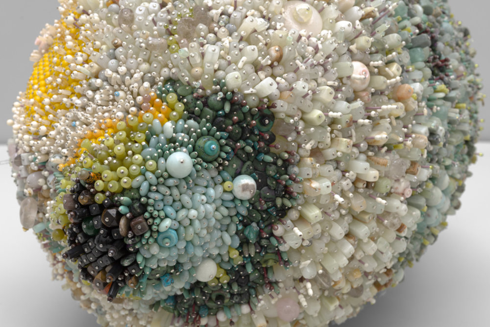 Bad Fruit Beautifully Bejeweled Rotting Fruit Sculptures By Kathleen Ryan 4