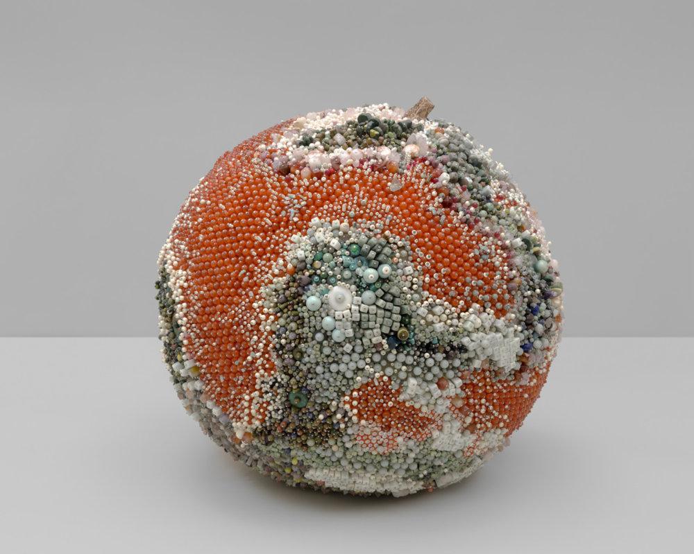 Bad Fruit Beautifully Bejeweled Rotting Fruit Sculptures By Kathleen Ryan 5
