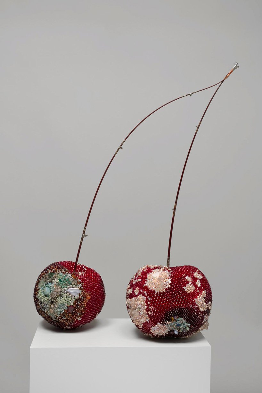 Bad Fruit Beautifully Bejeweled Rotting Fruit Sculptures By Kathleen Ryan 9
