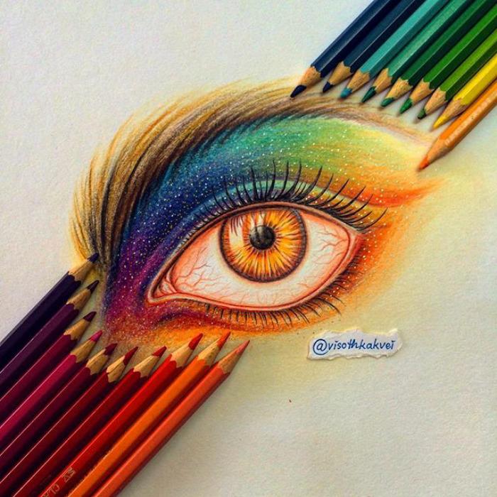 Fantastic Doodles With Digital Enhancement By Visoth Kakvei 17