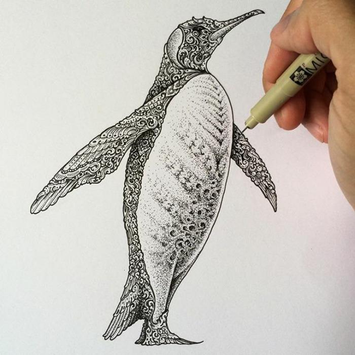 Fantastic Doodles With Digital Enhancement By Visoth Kakvei 24