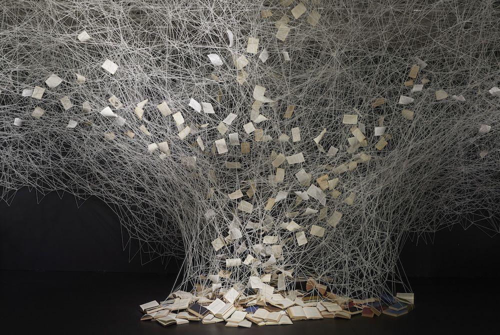 Intriguing Yarn Installations By Chiharu Shiota 3