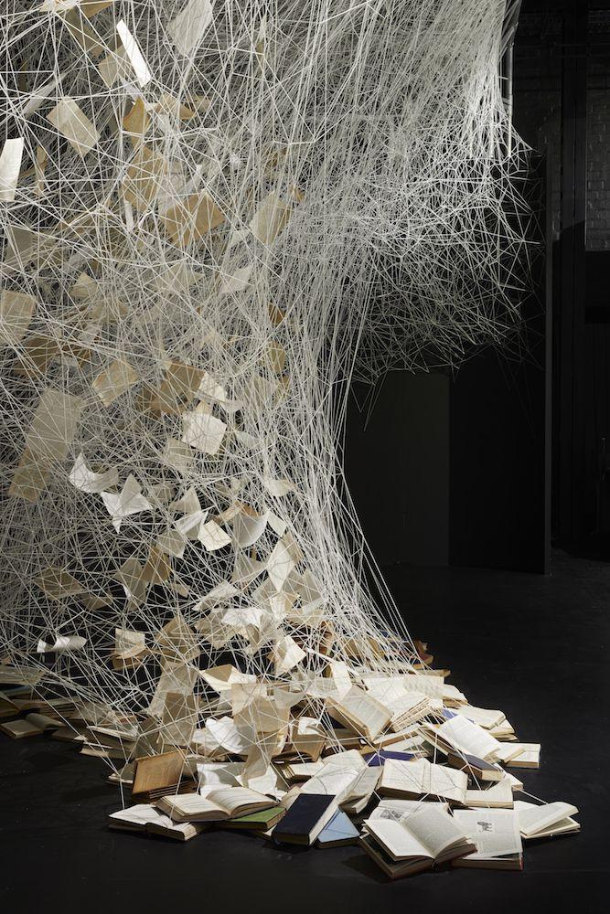 Intriguing Yarn Installations By Chiharu Shiota 4