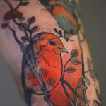 Marvelous neon color tattoos by Polish artist Joanna Świrska