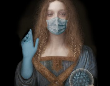 """""""My Corona Diary"""": amusing adaptations of classical portraits to our pandemic times by Sabine Pigalle"""