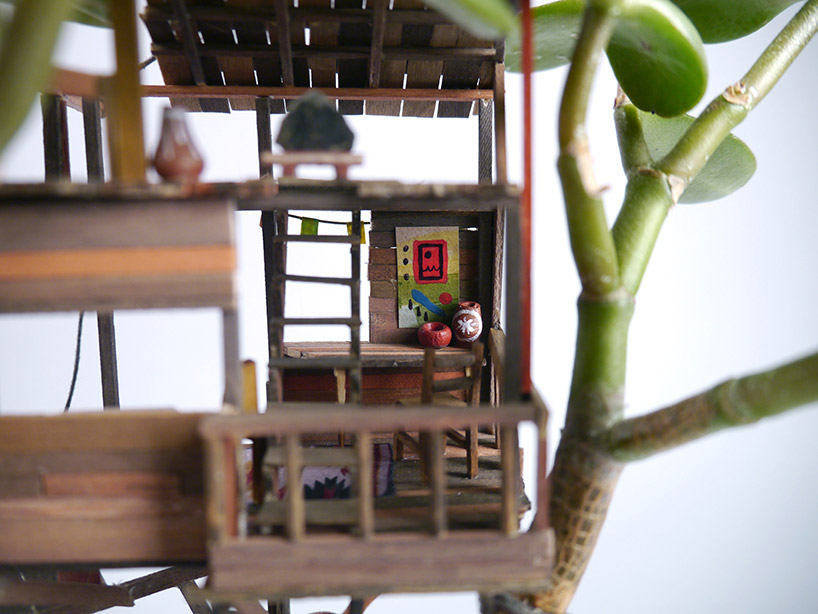 Somewhere Small Tree Houses In Miniature By Jedediah Corwyn Voltz 2