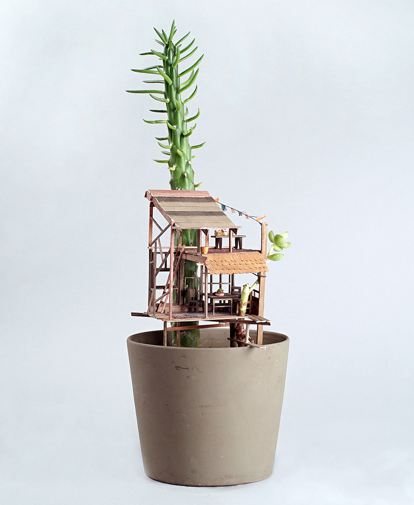 Somewhere Small Tree Houses In Miniature By Jedediah Corwyn Voltz 5