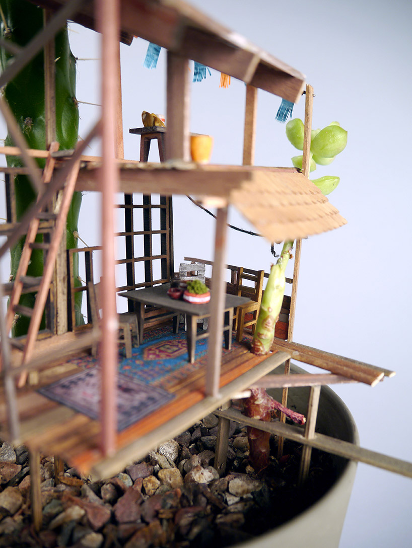Somewhere Small Tree Houses In Miniature By Jedediah Corwyn Voltz 6