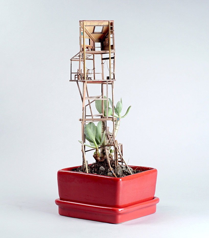 Somewhere Small Tree Houses In Miniature By Jedediah Corwyn Voltz 7