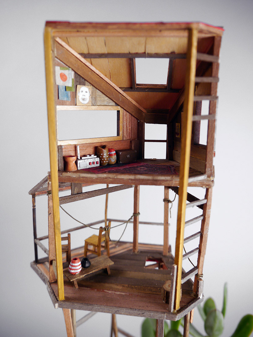 Somewhere Small Tree Houses In Miniature By Jedediah Corwyn Voltz 8