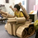 Stunning cardboard sculptures by Japanese designer Monomi Ohno
