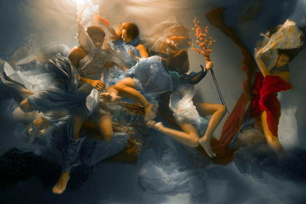 Sublime Underwater Photographs With Baroque Like Scenarios By Christy Lee Rogers 1