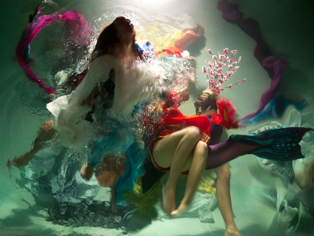 Sublime Underwater Photographs With Baroque Like Scenarios By Christy Lee Rogers 5
