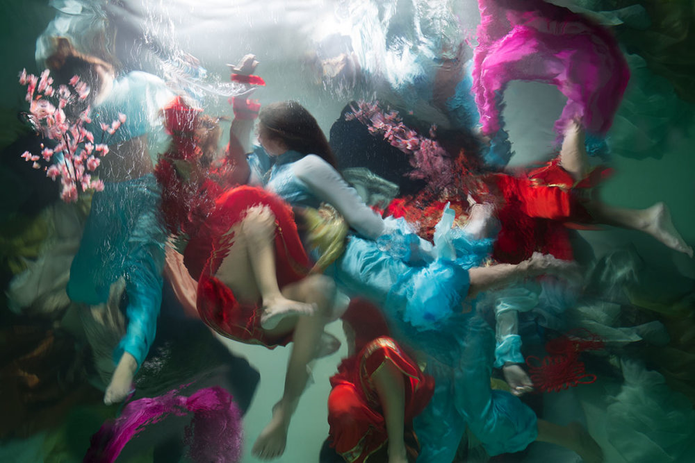Sublime Underwater Photographs With Baroque Like Scenarios By Christy Lee Rogers 6