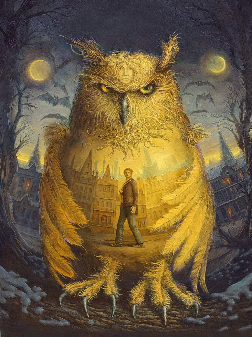 Surreal And Imaginative Book Illustrations By Andrew Ferez 10