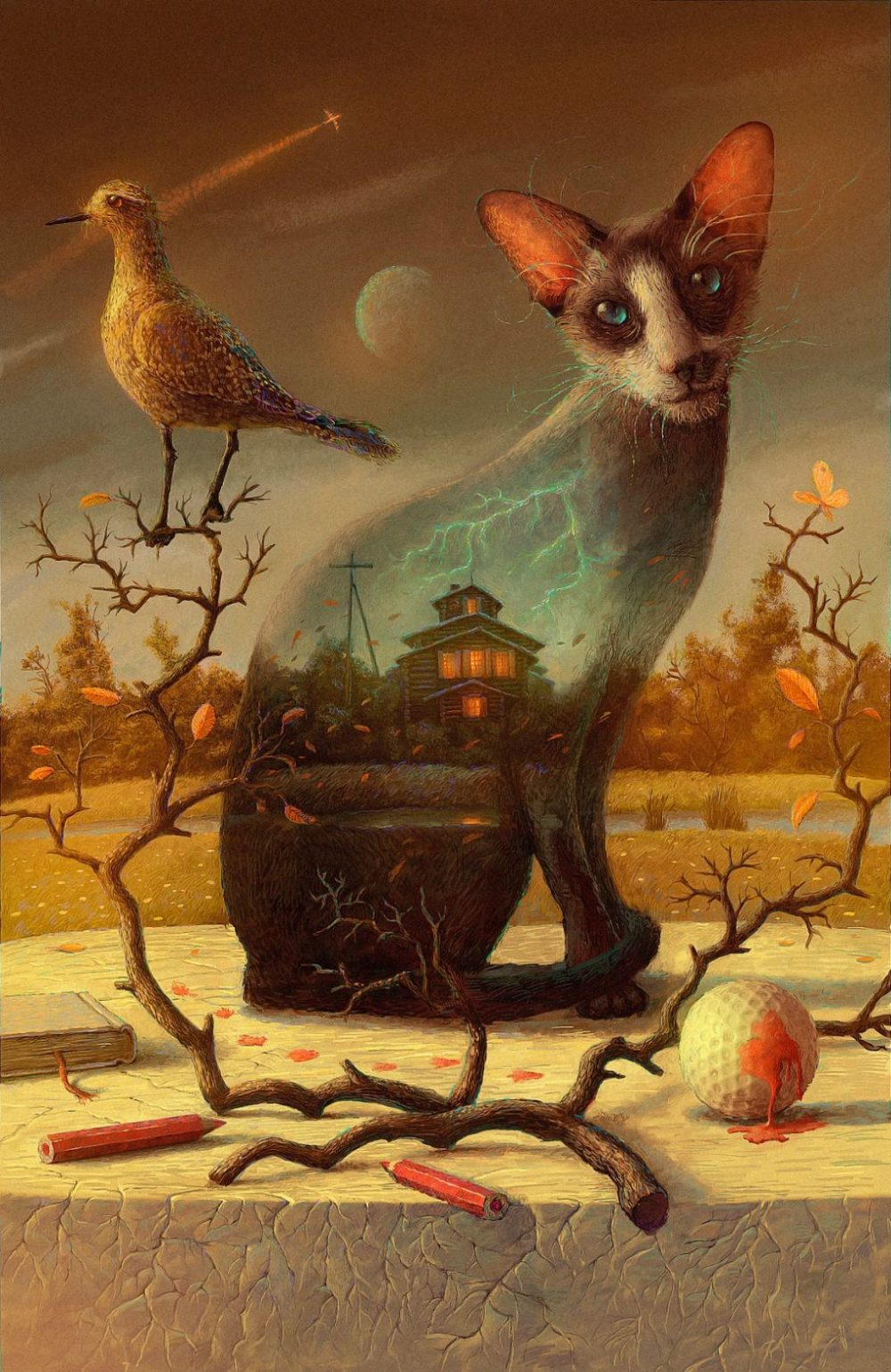 Surreal And Imaginative Book Illustrations By Andrew Ferez 4