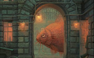 Surreal and imaginative book illustrations by Andrew Ferez