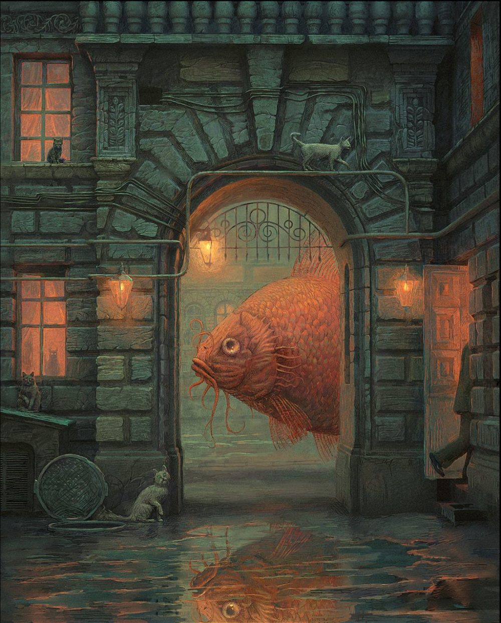 Surreal And Imaginative Book Illustrations By Andrew Ferez 6