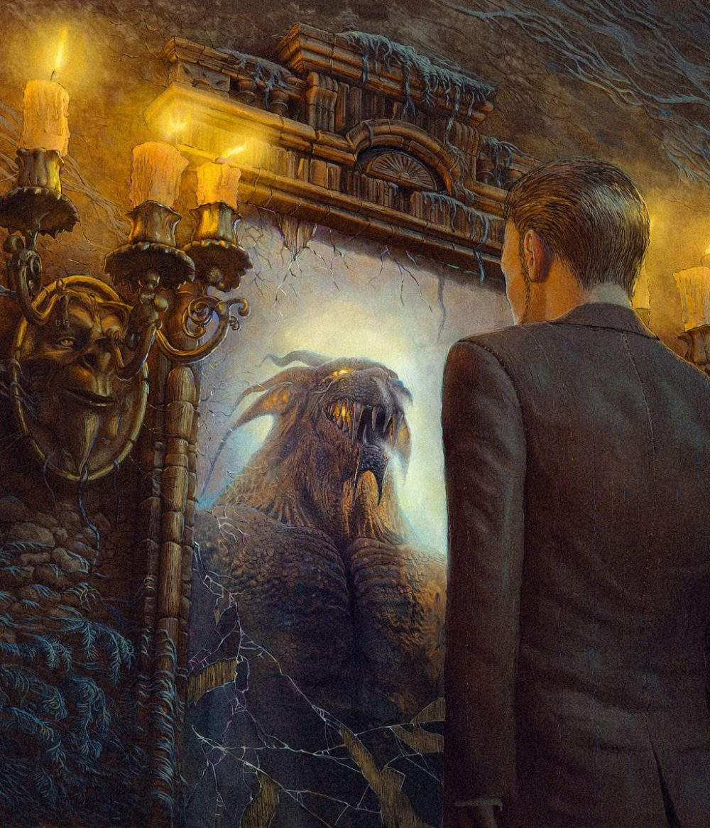Surreal And Imaginative Book Illustrations By Andrew Ferez 9
