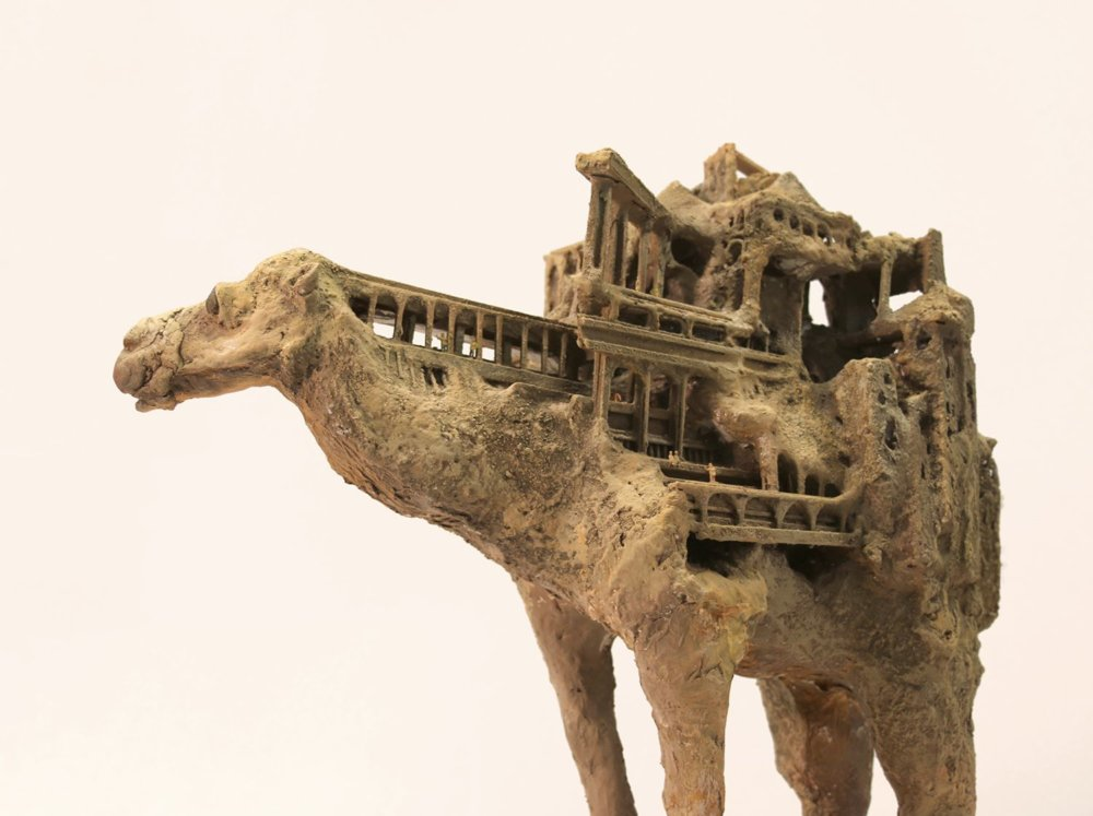 Vernacular Dreamlike And Symbiotic Animal Sculpture Series By Song Kang 2