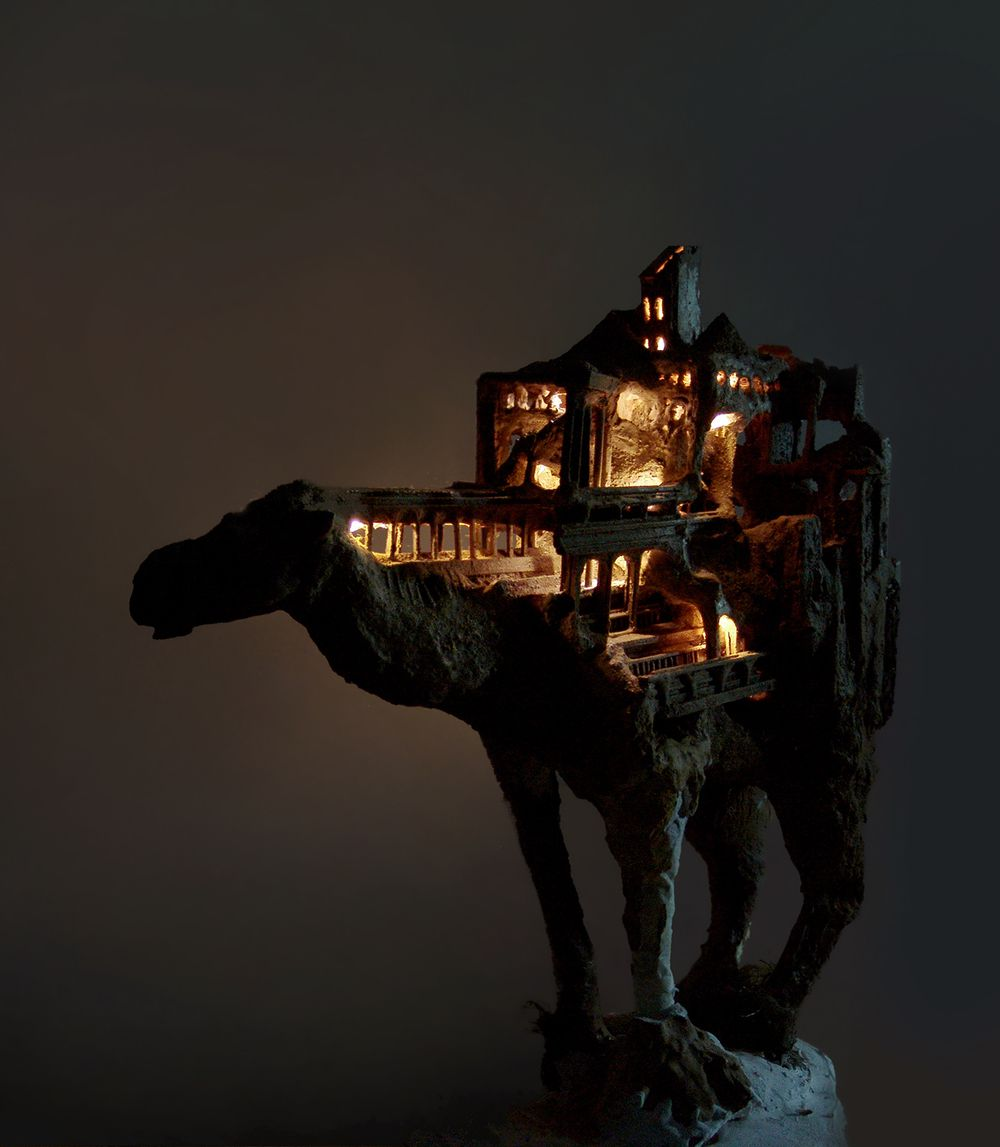 Vernacular Dreamlike And Symbiotic Animal Sculpture Series By Song Kang 4