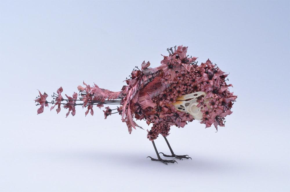 Animal Sculptures Made Of Metallic Blooms By Taiichiro Yoshida 2