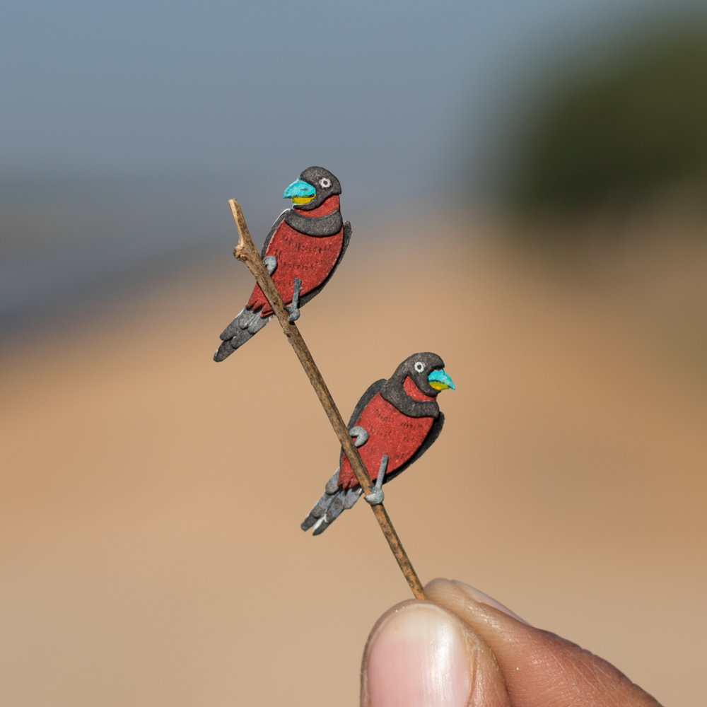 Awesome Bird Paper Cut Sculptures In Miniature By Vaishali Chudasama 5