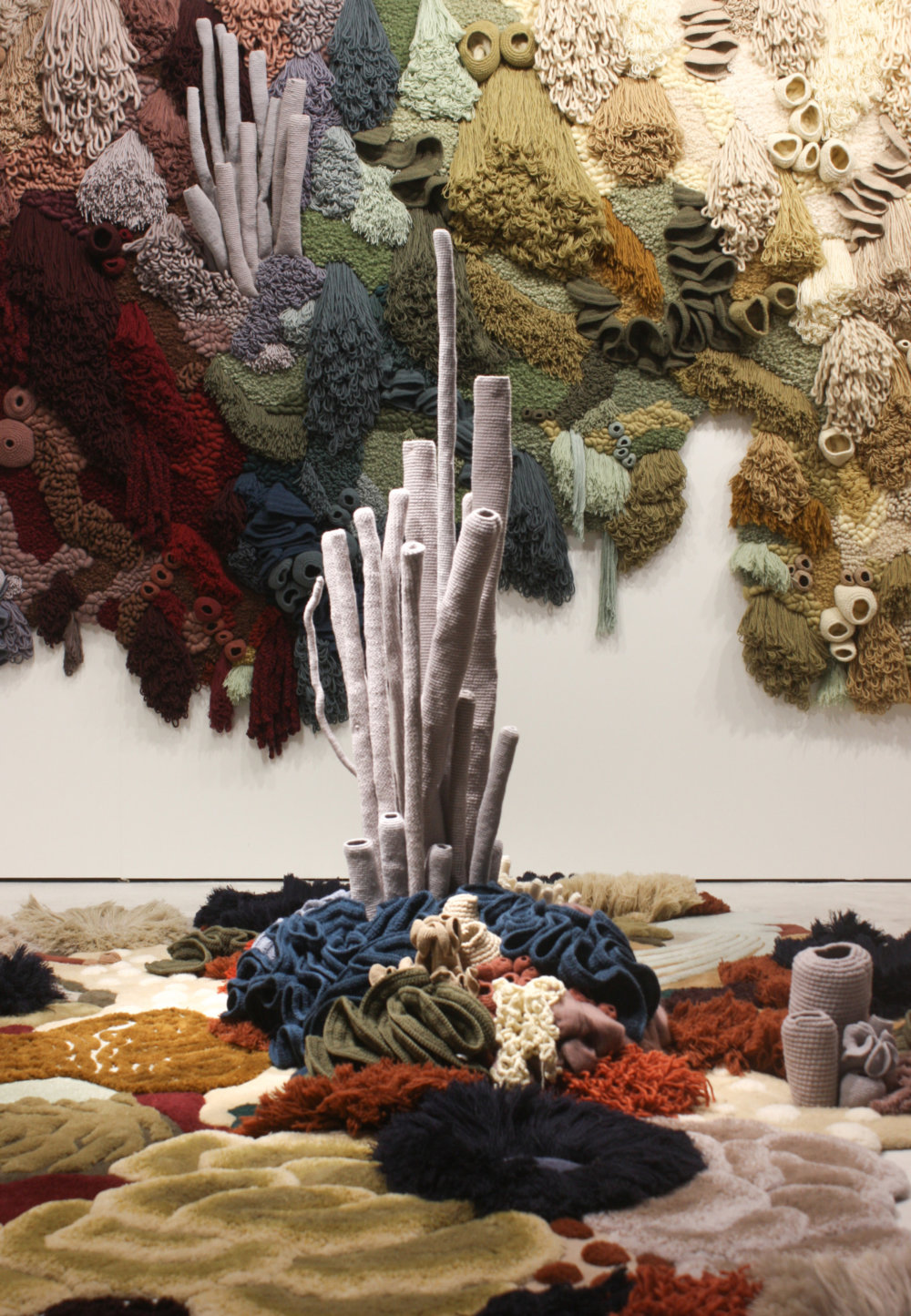 Coral Garden Stunning Installation Of Textile Coral Reefs By Vanessa Barragao 1
