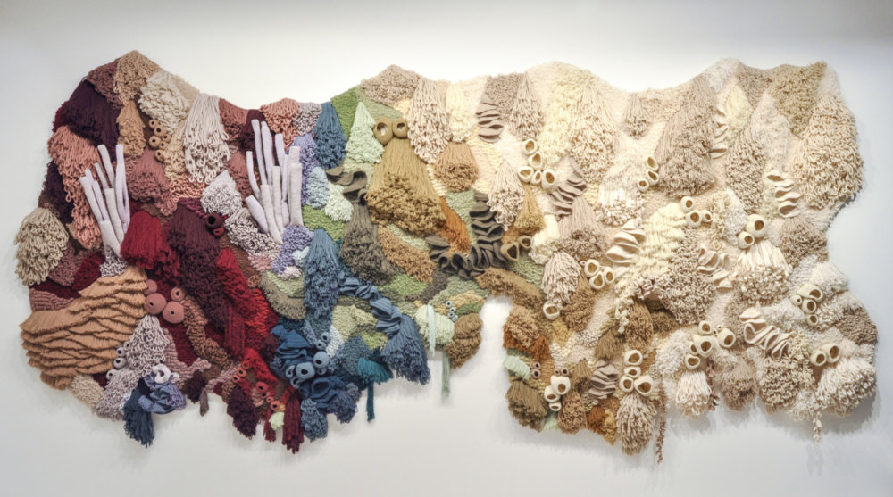 Coral Garden Stunning Installation Of Textile Coral Reefs By Vanessa Barragao 2