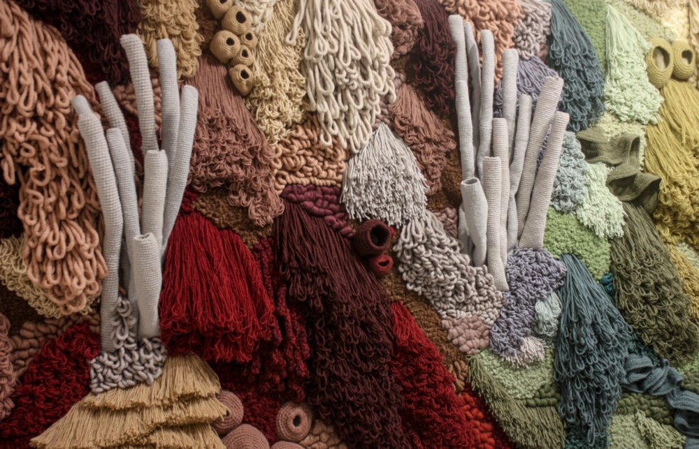 Coral Garden Stunning Installation Of Textile Coral Reefs By Vanessa Barragao 3