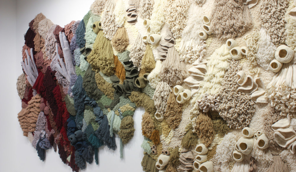 Coral Garden Stunning Installation Of Textile Coral Reefs By Vanessa Barragao 5