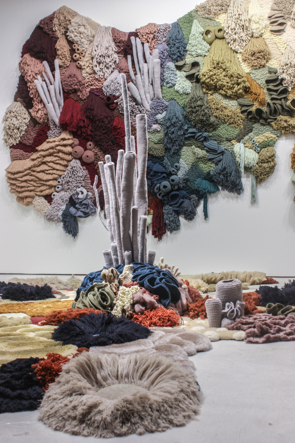 Coral Garden Stunning Installation Of Textile Coral Reefs By Vanessa Barragao 6