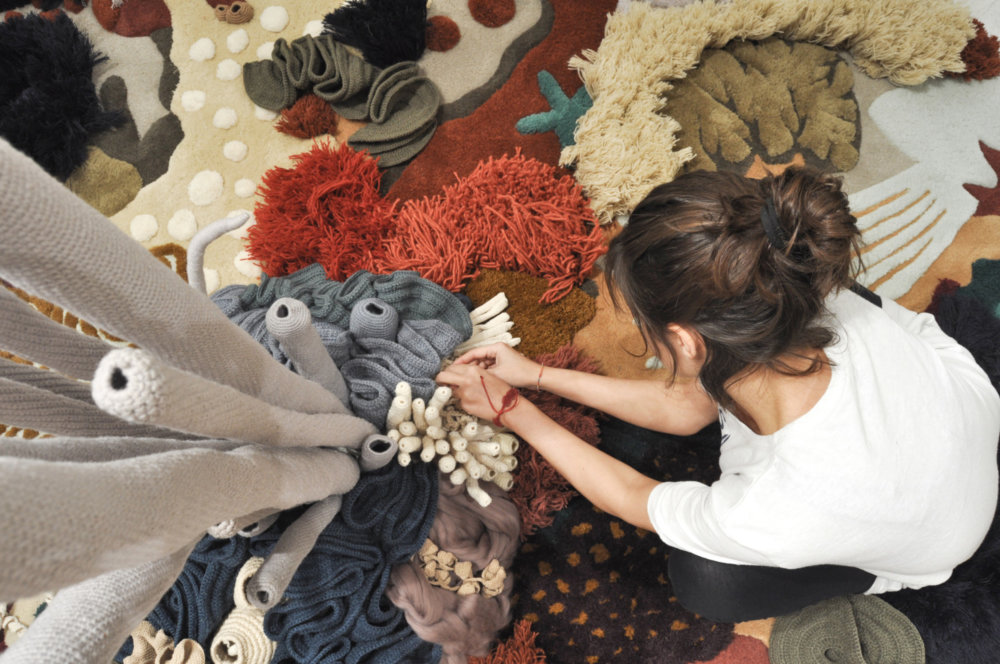 Coral Garden Stunning Installation Of Textile Coral Reefs By Vanessa Barragao 7