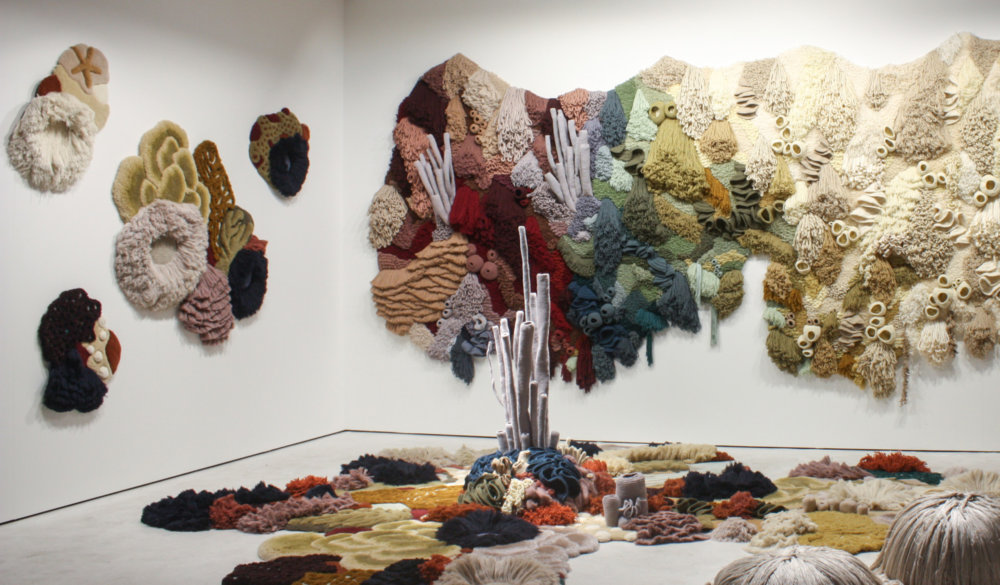 Coral Garden Stunning Installation Of Textile Coral Reefs By Vanessa Barragao 8